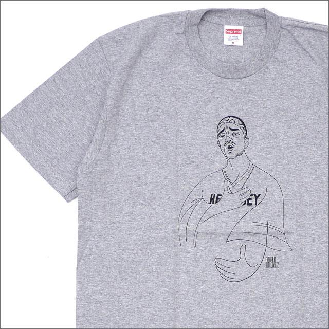 【合計15,000円(税抜)以上のお買い上げでステッカープレゼント!】 SUPREME(シュプリーム) Prodigy Tee (Tシャツ) GRAY 200-007754-042+【新品】