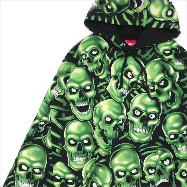 【合計15,000円(税抜)以上のお買い上げでステッカープレゼント!】 SUPREME(シュプリーム) Skull Pile Hooded Sweatshirt (スウェットパーカー) MULTI 211-000553-059+【新品】