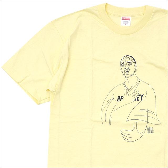 【合計15,000円(税抜)以上のお買い上げでステッカープレゼント!】 SUPREME(シュプリーム) Prodigy Tee (Tシャツ) PALE YELLOW 200-007754-149+【新品】
