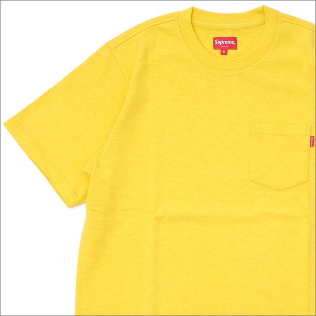 シュプリーム SUPREME Pocket Tee D1 Tシャツ DARK YELLOW 203000275148 418000347058 【新品】
