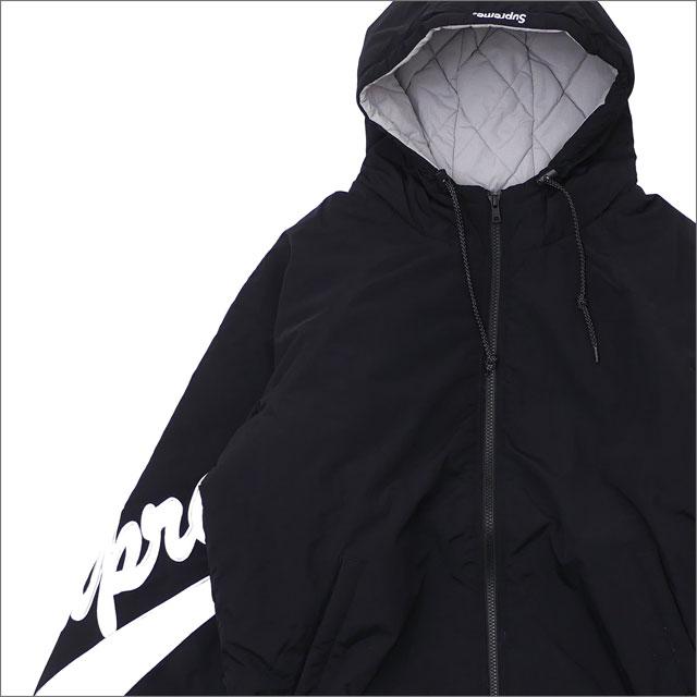 【7/6(金) 20:00~7/20(金) 23:59までポイント5倍!!】 SUPREME(シュプリーム) Sleeve Script Sideline Jacket (ジャケット) BLACK 225-000351-041+【新品】