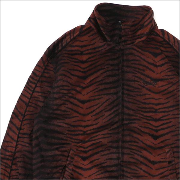 【合計15,000円(税抜)以上のお買い上げでステッカープレゼント!】 SUPREME(シュプリーム) Tiger Stripe Track Jacket (ジャケット) BROWN 418-000148-036+【新品】