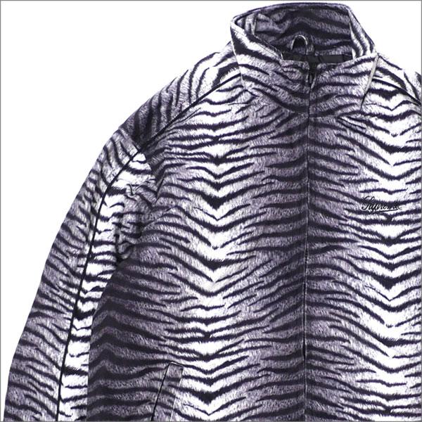 【合計15,000円(税抜)以上のお買い上げでステッカープレゼント!】 SUPREME(シュプリーム) Tiger Stripe Track Jacket (ジャケット) WHITE 418-000148-030+【新品】