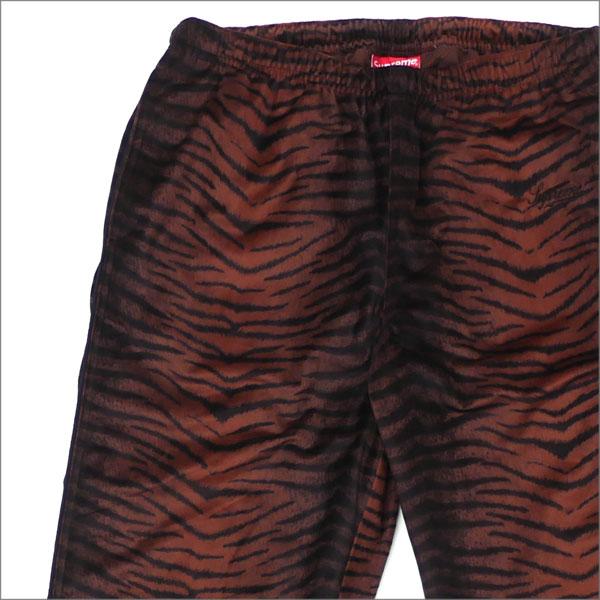 【合計15,000円(税抜)以上のお買い上げでステッカープレゼント!】 SUPREME(シュプリーム) Tiger Stripe Track Pant (トラックパンツ) BROWN 418-000149-036+【新品】