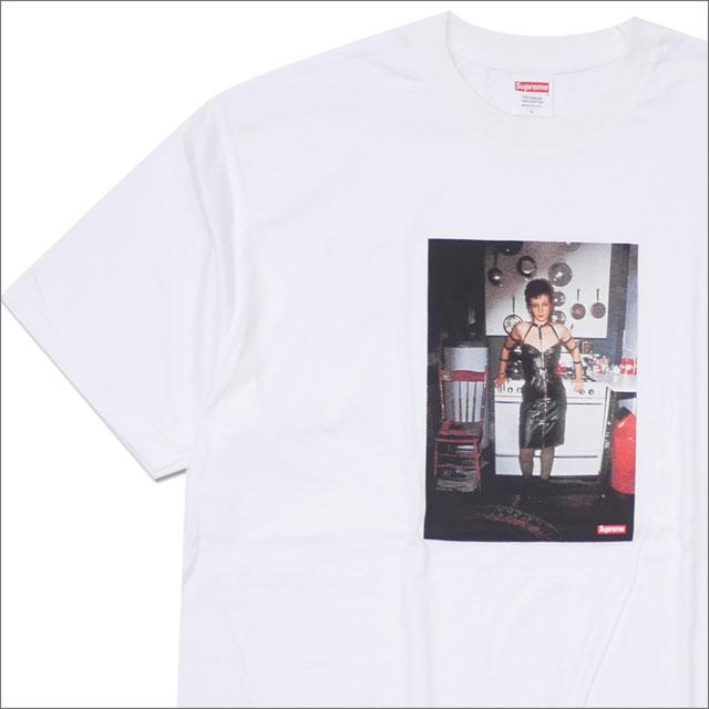 SUPREME(シュプリーム) x Nan Goldin(ナン・ゴールディン) Nan as a dominatrix Tee (Tシャツ) WHITE 200-007790-050 104-002551-040+【新品】