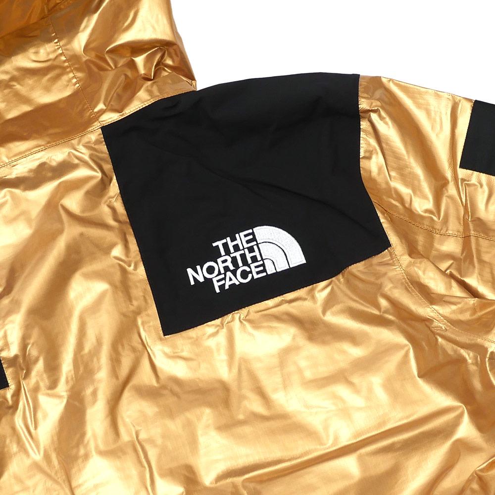 シュプリーム SUPREME x THE NORTH FACE ザ・ノースフェイス Metallic Mountain Parka マウンテンパーカ GOLD 225000357048 【新品】