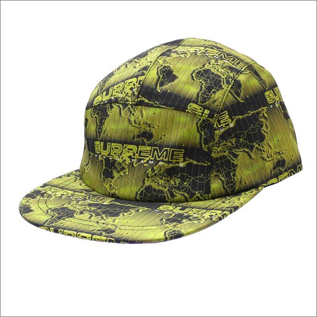 シュプリーム SUPREME World Famous Taped Seam Camp Cap キャンプキャップ ACID GREEN 265001027115 【新品】