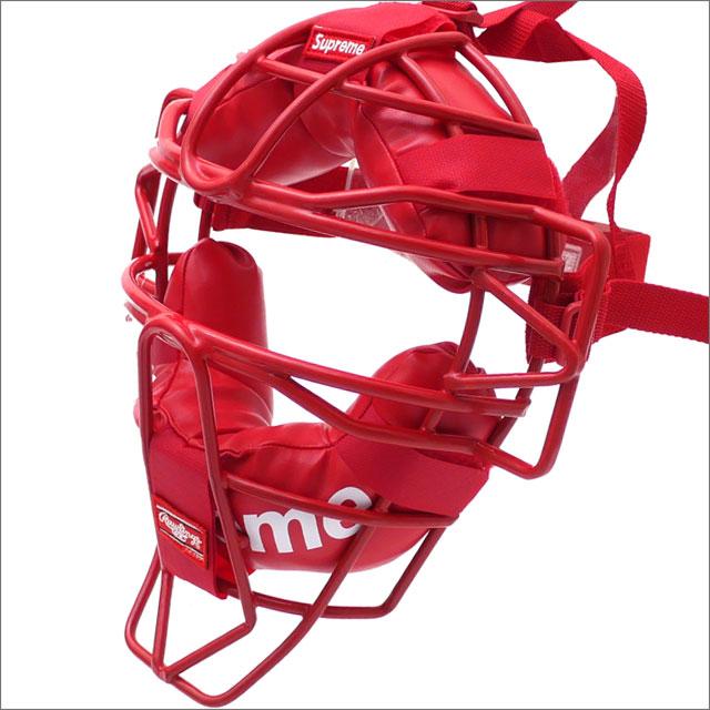 【合計15,000円(税抜)以上のお買い上げでステッカープレゼント!】 SUPREME(シュプリーム) Rawlings Catchers Mask (キャッチャーマスク) RED 290-004700-013+【新品】