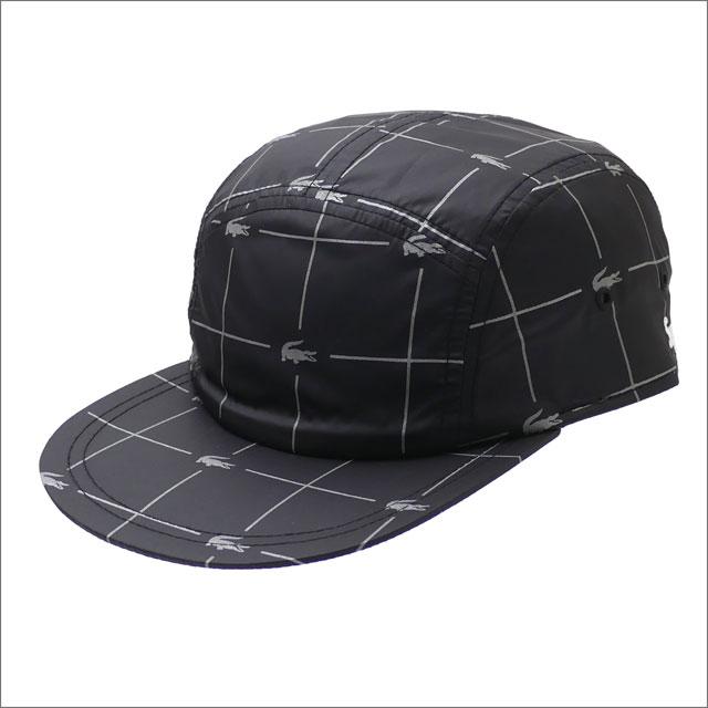 【合計15,000円(税抜)以上のお買い上げでステッカープレゼント!】 SUPREME(シュプリーム) Reflective Grid Nylon Camp Cap (キャンプキャップ) BLACK 265-001033-011+【新品】