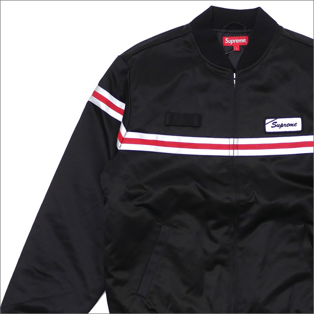 SUPREME(シュプリーム) Reflective Stripe Work Jacket (ジャケット) BLACK 418-000208-051+【新品】