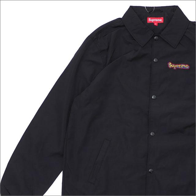 【合計15,000円(税抜)以上のお買い上げでステッカープレゼント!】 SUPREME(シュプリーム) Gonz Logo Coaches Jacket (コーチジャケット) BLACK 225-000366-031 418-000313-061+【新品】