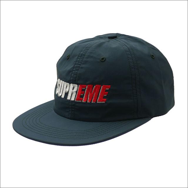 シュプリーム SUPREME 2Tone Nylon 6Panel 6パネルキャップ NAVY 265001036117 【新品】