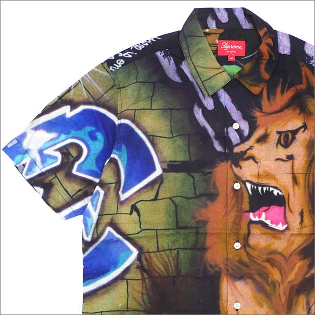 シュプリーム SUPREME Lion's Den Shirt 半袖シャツ MULTI 215001290149 418000314059 【新品】