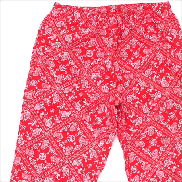【合計15,000円(税抜)以上のお買い上げでステッカープレゼント!】 SUPREME(シュプリーム) Bandana Track Pant (パンツ) RED 249-000617-143+【新品】