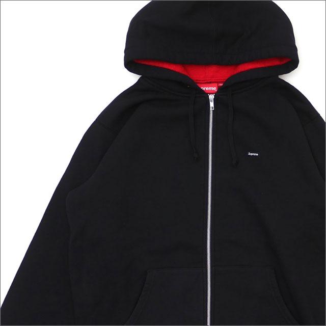 【合計15,000円(税抜)以上のお買い上げでステッカープレゼント!】 SUPREME(シュプリーム) Contrast Zip Up Hooded Sweatshirt (スウェットパーカー) BLACK 212-001022-151+【新品】