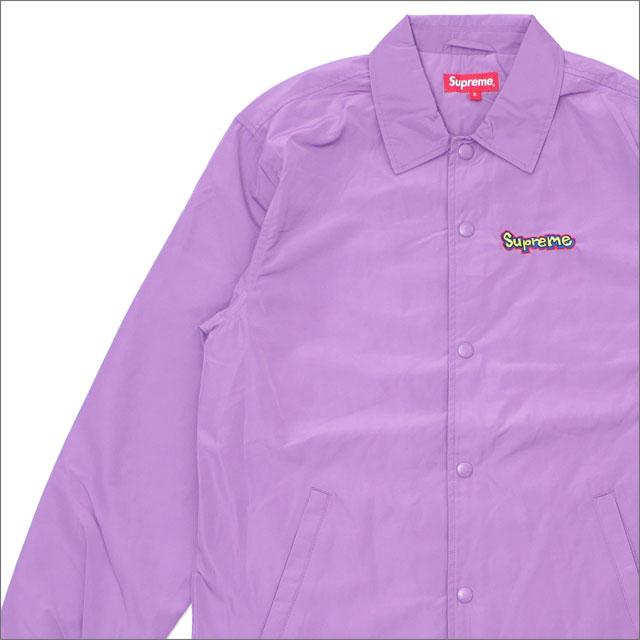 シュプリーム SUPREME Gonz Logo Coaches Jacket コーチジャケット VIOLET 418000313039 418000369039【新品】