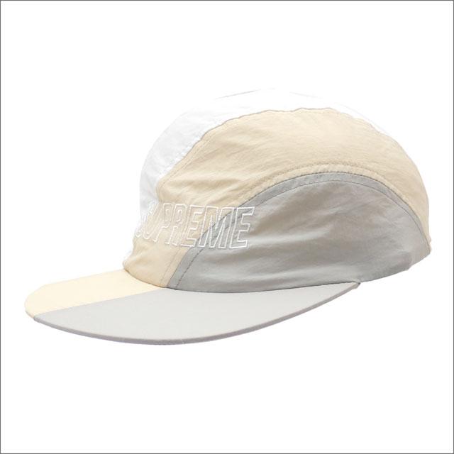 [次回のお買い物で使える500円OFFクーポン配布中!! 4/30(火)まで!!] シュプリーム SUPREME Diagonal Stripe Nylon Hat キャップ LIGHT GRAY 265001054112 【新品】