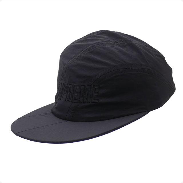 [次回のお買い物で使える500円OFFクーポン配布中!! 4/30(火)まで!!] シュプリーム SUPREME Diagonal Stripe Nylon Hat キャップ BLACK 265001054111 【新品】
