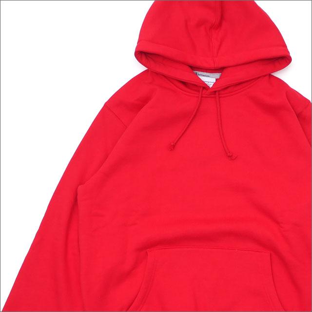 【合計15,000円(税抜)以上のお買い上げでステッカープレゼント!】 SUPREME(シュプリーム) Champion Hooded Sweatshirt (スウェットパーカー) RED 211-000581-143+【新品】