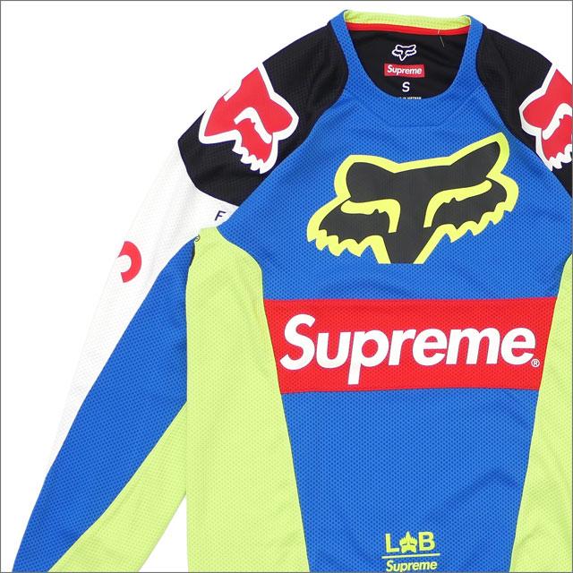 シュプリーム SUPREME x Fox Racing フォックス・レーシング Moto Jersey Top ジャージトップ MULTICOLOR 418000342039 418000348039 【新品】