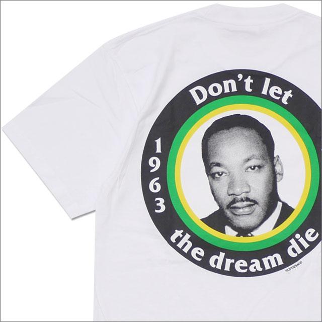 【合計15,000円(税抜)以上のお買い上げでステッカープレゼント!】 SUPREME(シュプリーム) Dream Tee (Tシャツ) WHITE 200-007856-030+【新品】