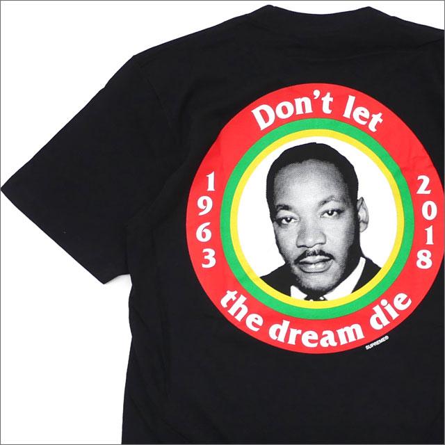 【合計15,000円(税抜)以上のお買い上げでステッカープレゼント!】 SUPREME(シュプリーム) Dream Tee (Tシャツ) BLACK 200-007856-031+【新品】