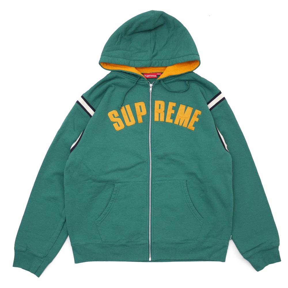 5d5650e7dd0c ブランドを代表するアーチロゴを刺繍したパーカー、Jet Sleeve Zip Up Hooded  Sweatshirtです!柔らかくタフなカナダ製ヘビーウェイトコットンを採用し、袖に ...