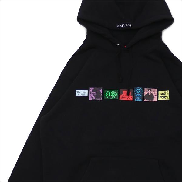 【合計15,000円(税抜)以上のお買い上げでステッカープレゼント!】 SUPREME(シュプリーム) Bless Hooded Sweatshirt (スウェットパーカー) BLACK 211-000583-141+【新品】