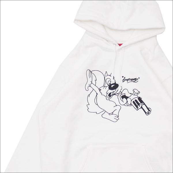 【合計15,000円(税抜)以上のお買い上げでステッカープレゼント!】 SUPREME(シュプリーム) Lee Hooded Sweatshirt (スウェットパーカー) WHITE 418-000317-050+【新品】