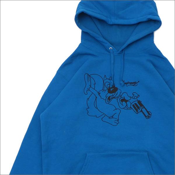 【合計15,000円(税抜)以上のお買い上げでステッカープレゼント!】 SUPREME(シュプリーム) Lee Hooded Sweatshirt (スウェットパーカー) DARK AQUA 418-000317-054+【新品】