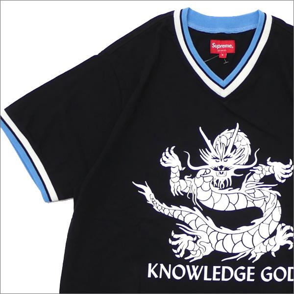 【合計15,000円(税抜)以上のお買い上げでステッカープレゼント!】 SUPREME(シュプリーム) Knowledge God Practice Jersey (ジャージートップ) BLACK 418-0003190-311+【新品】