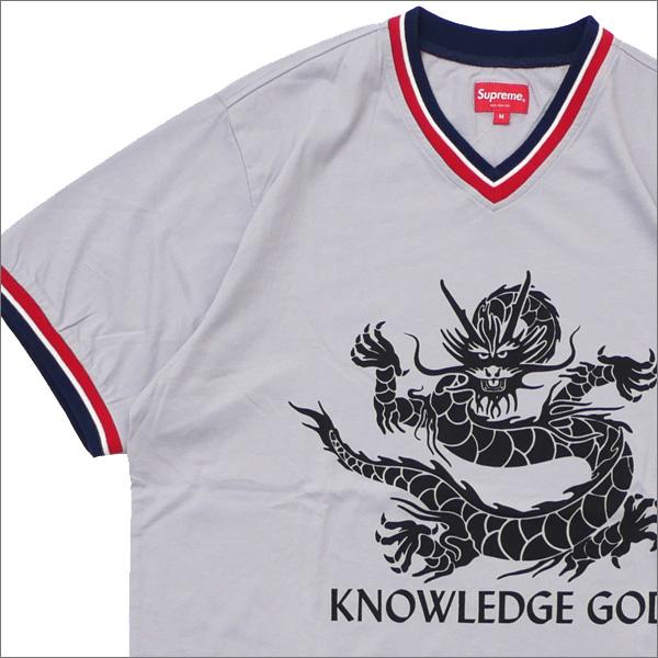 【合計15,000円(税抜)以上のお買い上げでステッカープレゼント!】 SUPREME(シュプリーム) Knowledge God Practice Jersey (ジャージートップ) DUSTY BLUE 418-000319-044+【新品】