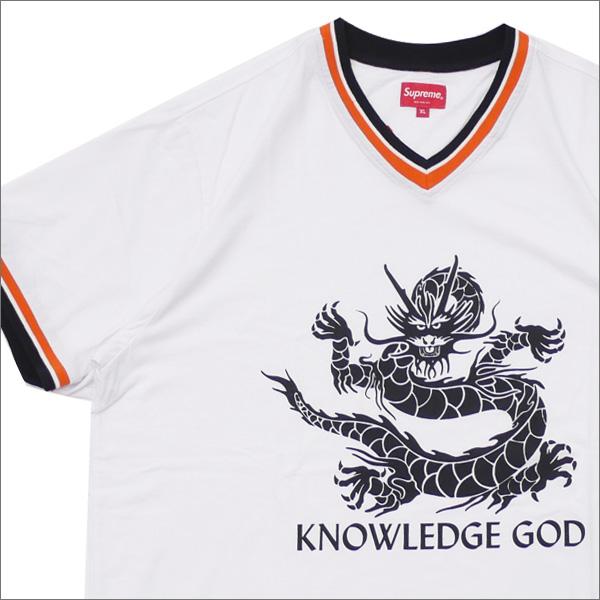 【合計15,000円(税抜)以上のお買い上げでステッカープレゼント!】 SUPREME(シュプリーム) Knowledge God Practice Jersey (ジャージートップ) WHITE 418-000319-060+【新品】