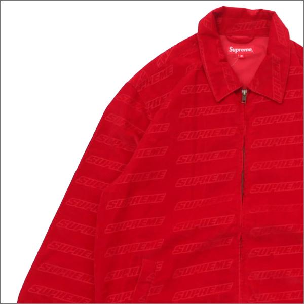 シュプリーム SUPREME Debossed Logo Corduroy Jacket ジャケット RED 418000327043 418000368043 【新品】