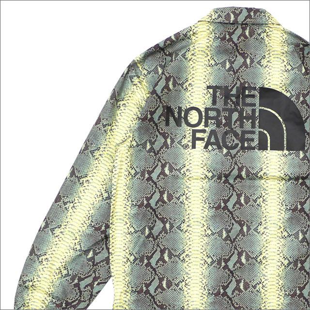 【合計15,000円(税抜)以上のお買い上げでステッカープレゼント!】 SUPREME(シュプリーム) x THE NORTH FACE(ザ・ノースフェイス) Snakeskin Taped Seam Coaches Jacket (コーチジャケット) GREEN 225-000373-145+【新品】
