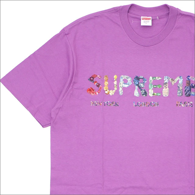 SUPREME(シュプリーム) Rocks Tee (Tシャツ) LIGHT PURPLE 200-007888-159+【新品】