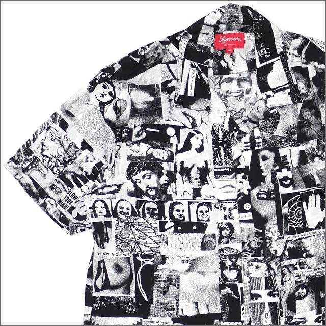 シュプリーム SUPREME Vibrations Rayon Shirt 半袖シャツ WHITE 215001302140 【新品】