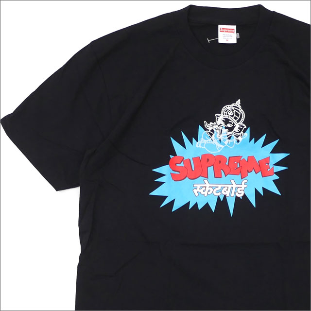 SUPREME(シュプリーム) Ganesha Tee (Tシャツ) BLACK 200-007884-041+【新品】