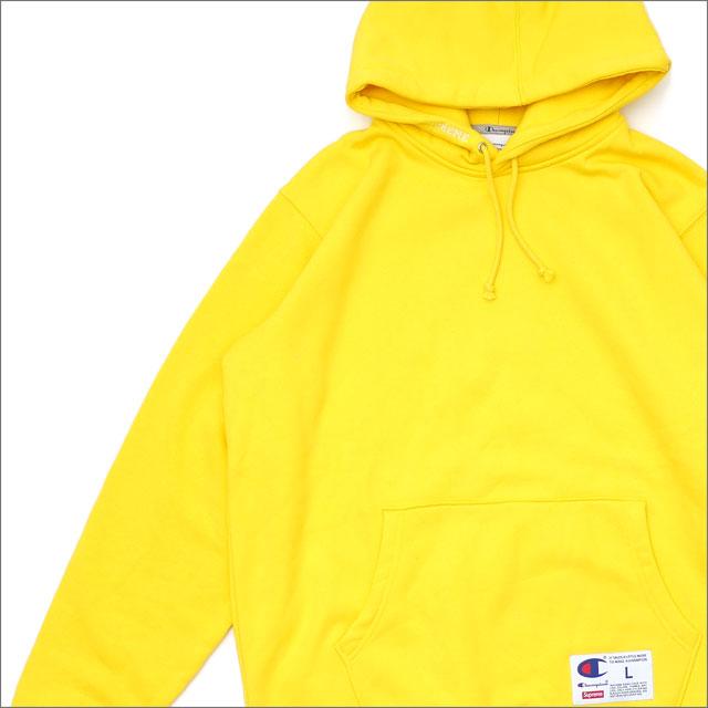 シュプリーム SUPREME Champion Hooded Sweatshirt スウェットパーカー YELLOW 111001347058 【新品】