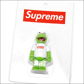 SUPREME (슈 프림) xMEDICOM TOY Kermit The Frog KUBRICK