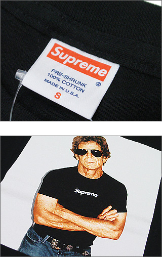 SUPREME(슈프림) LOU REED T셔츠200-002075-030