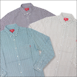 SUPREME(슈프림) 페이즈리옥스포드 긴소매 셔츠216-000285-040 [☆★]