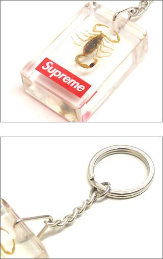 SUPREME (슈 프림) Scorpion Keychain 278-000259-011x [☆ 체크 】