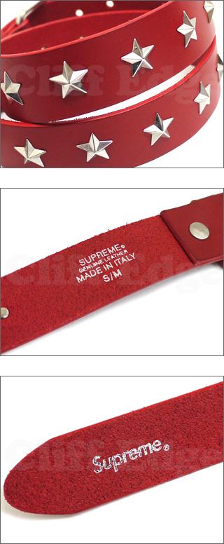 SUPREME (shupurimu) Studded Belt 284-000211-033-