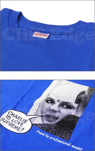 SUPREME (슈 프림) Charlie Loves Supreme 셔츠 300-000017-068 300-000024-041x [☆.]