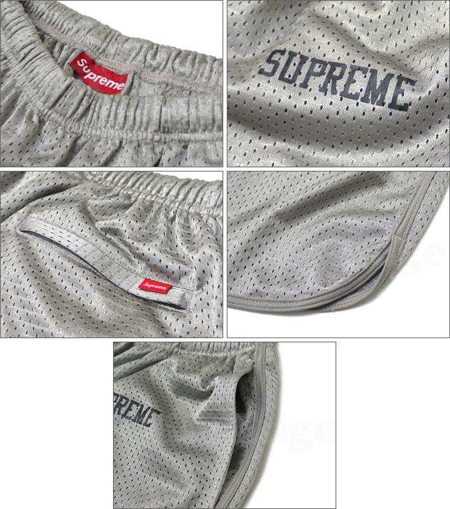 SUPREME(슈프림) Mesh Short[메쉬 쇼츠]GRAY 244-000349-032 x [☆★]