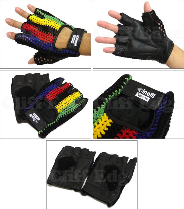 SUPREME (슈 프림) Cinelli Bike Gloves [글러브] 390-000013-030x [☆]