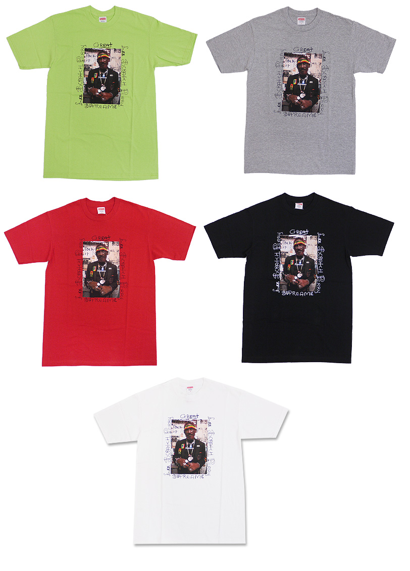 SUPREME(shupurimu)Lee Scratch Perry Photo T恤200-002898-040+[☆★]