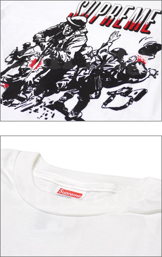 SUPREME(슈프림) GOD AND COUNTRY T셔츠 200-004221-040 x 300-000050-042+