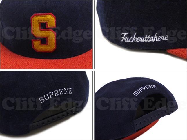 SUPREME (shupurimu) S FELT 5-PANEL WOOL Cap 265 - 000196 - 012x